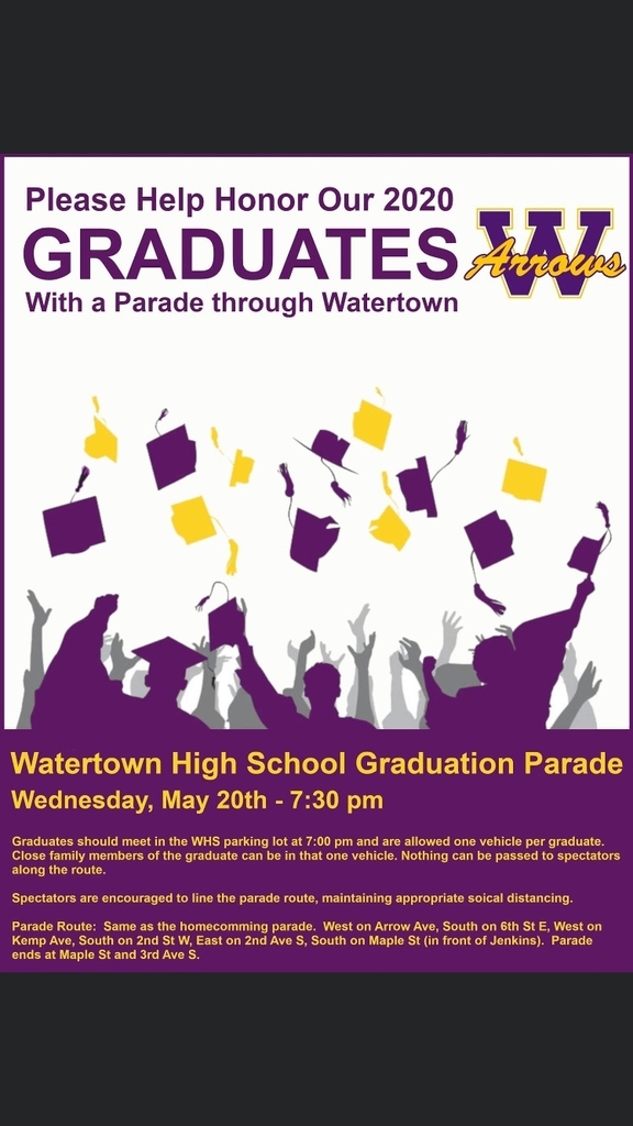 WHS Graduation Parade